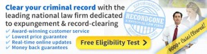 record gone expungement